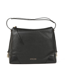 Michael Kors Womens Black Crosby Large Shoulder Bag