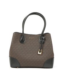 Michael Kors Womens Brown Mercer Gallery Tote