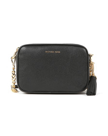 Michael Kors Womens Black Mid Camera Crossbody Bag