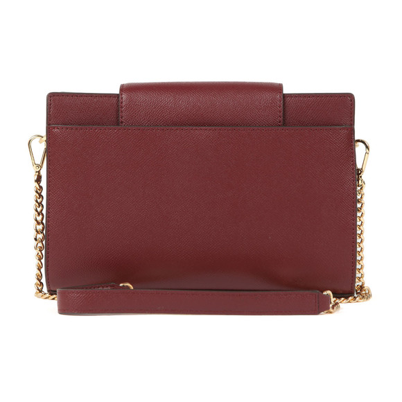 Michael Kors Womens Red Large Crossbody Clutch  main image