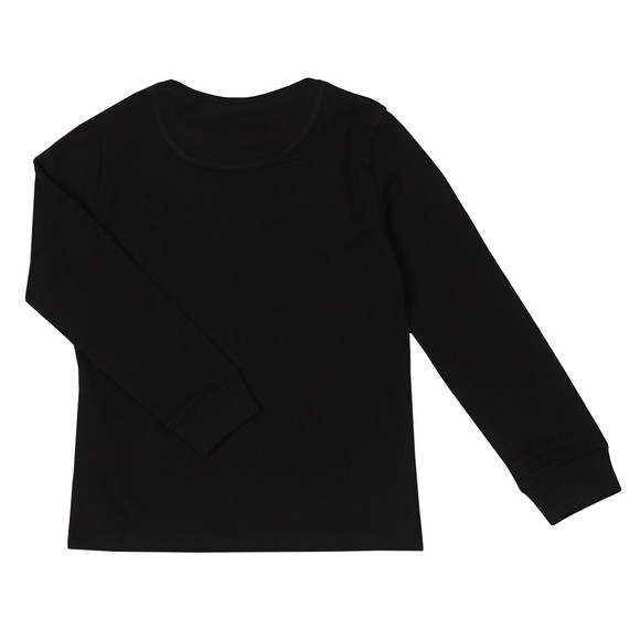 Paul Smith Junior Boys Black Sullivan 2 Long Sleeve Tee main image