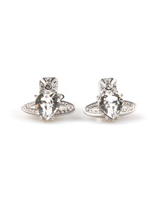 Vivienne Westwood Womens Silver Ariella Earrings