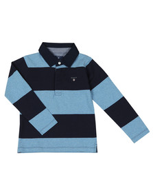 Gant Boys Blue The Original Barstripe Heavy Rugger