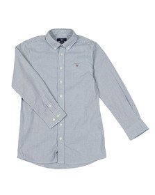 Gant Boys Blue Boys Archive Oxford Stripe Shirt