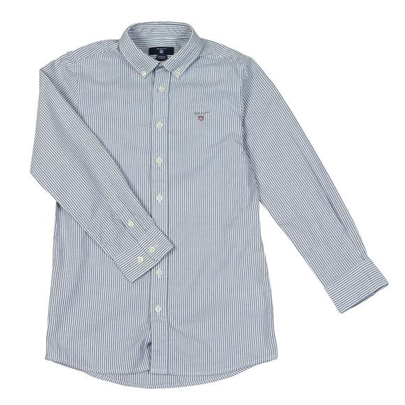 Gant Boys Blue Boys Archive Oxford Stripe Shirt main image