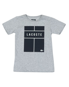 Lacoste Boys Grey Boys TJ1336 T Shirt