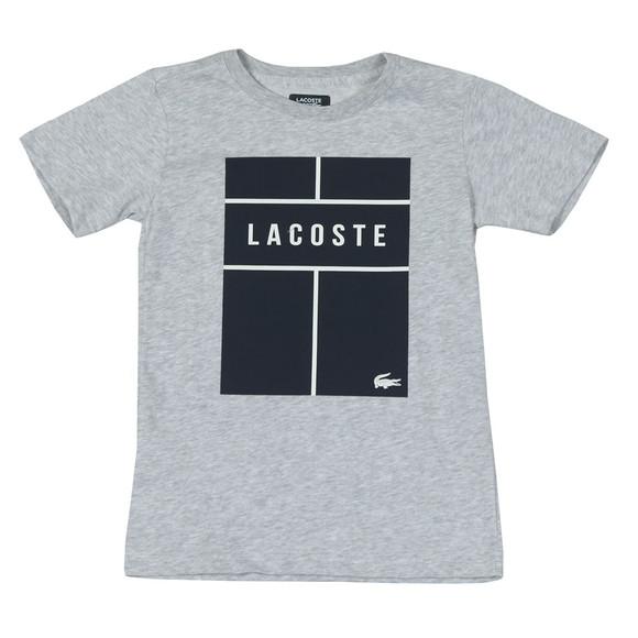 Lacoste Boys Grey TJ1336 T Shirt main image