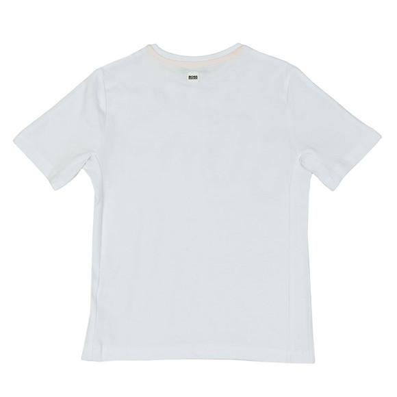 BOSS Bodywear Boys White Boys J25D17 T Shirt main image