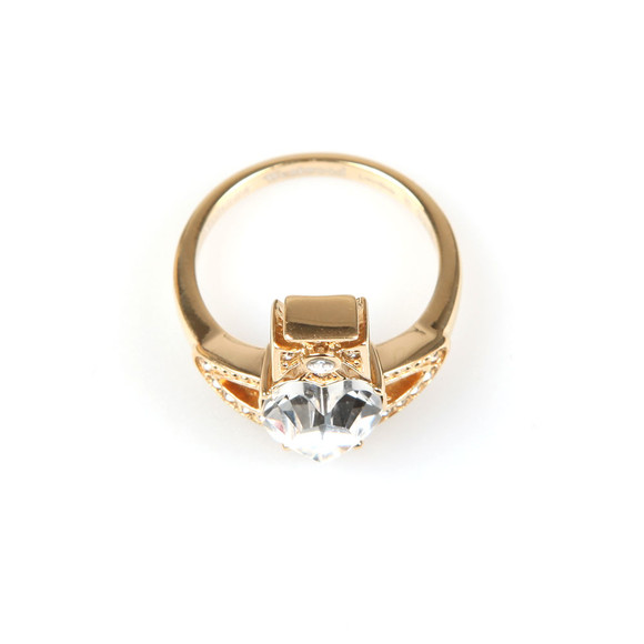 Vivienne Westwood Womens Gold Ariella Ring main image