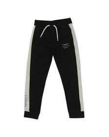 Hackett Boys Black AMR Sweatpant