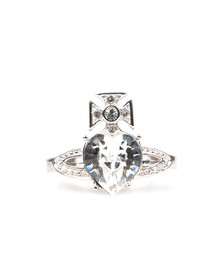 Vivienne Westwood Womens Silver Ariella Ring