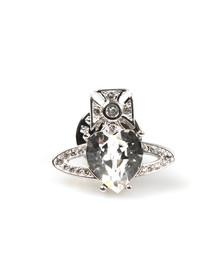 Vivienne Westwood Womens Silver Ariella Clutch Pin