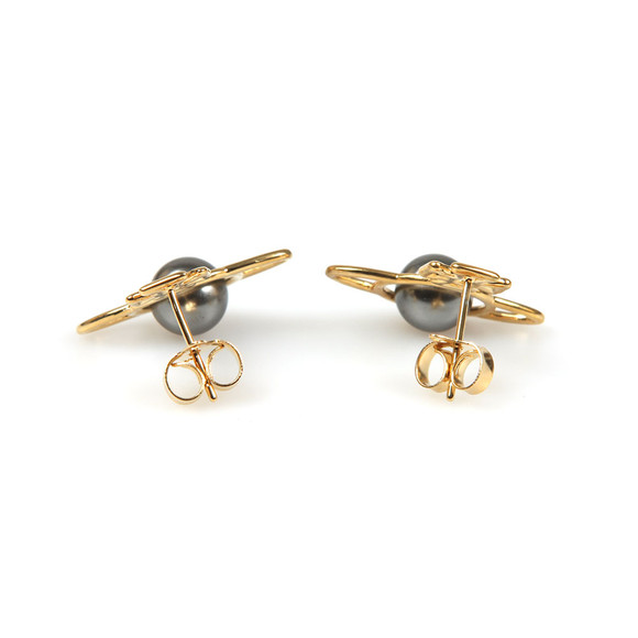 Vivienne Westwood Womens Gold Otavia Orb Small Earring main image