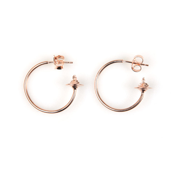 Vivienne Westwood Womens Pink Rosemary Small Earring main image
