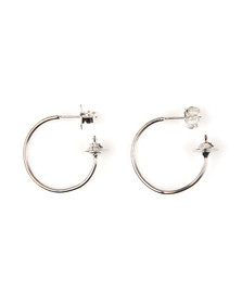 Vivienne Westwood Womens Silver Rosemary Small Earring