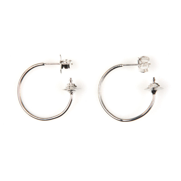 Vivienne Westwood Womens Silver Rosemary Small Earring main image