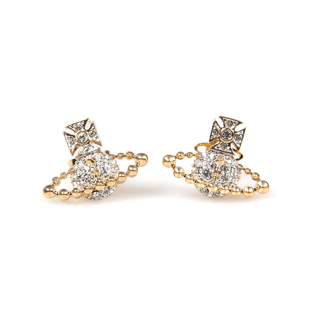 ef35908f920002 Vivienne Westwood Lena Bas Relief Earring   Masdings