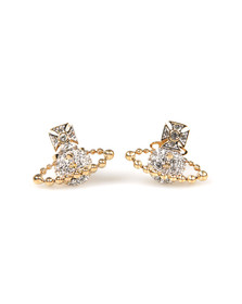 Vivienne Westwood Womens Gold Lena Bas Relief Earring
