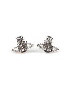 Vivienne Westwood Womens Silver Lena Bas Relief Earring