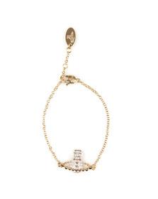 Vivienne Westwood Womens Gold Lena Bas Relief Bracelet