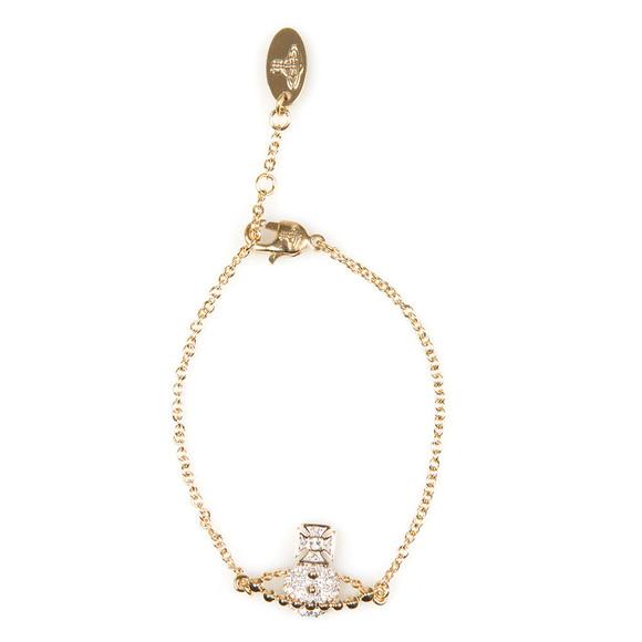 Vivienne Westwood Womens Gold Lena Bas Relief Bracelet main image