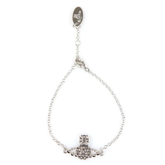 Vivienne Westwood Womens Silver Lena Bas Relief Bracelet