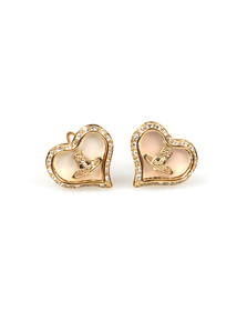 Vivienne Westwood Womens Gold Petra Earrings