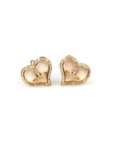Vivienne Westwood Womens Gold Petra Earrings