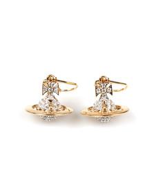 Vivienne Westwood Womens Gold Lena Orb Earring