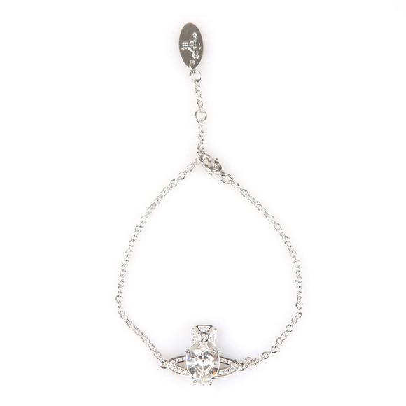 Vivienne Westwood Womens Silver Ariella Bracelet