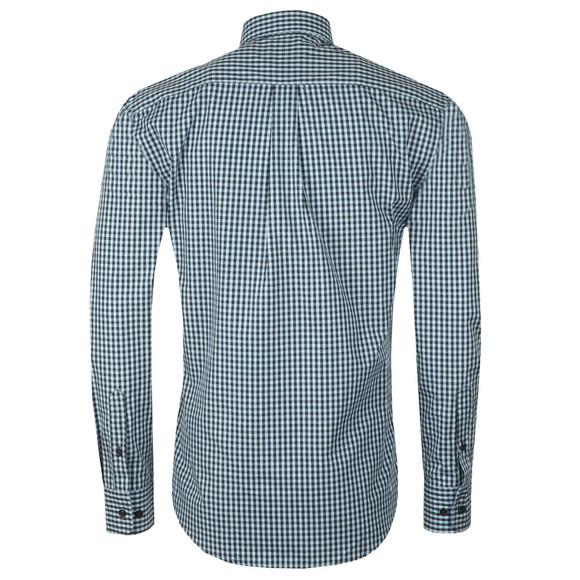Fynch Hatton Mens Blue Winter Fond Check LS Shirt main image