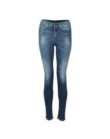 Replay Womens Blue Joi Super Skinny High Waist Jean