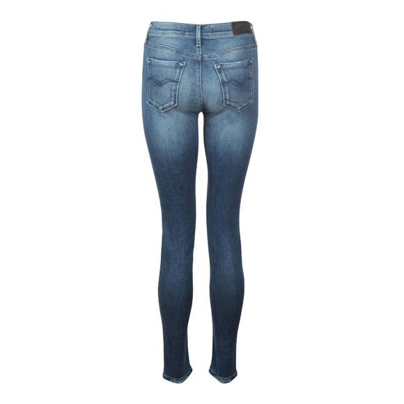 Replay Womens Blue Joi Super Skinny High Waist Jean main image