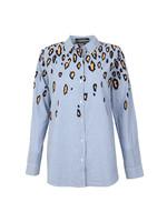 Pattern Button Down Shirt