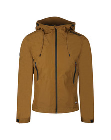 Superdry Mens Brown Technical Elite Wincdheater