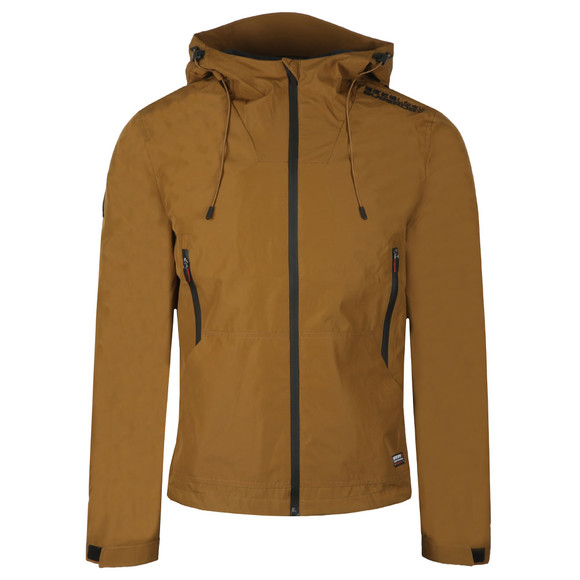 Superdry Mens Brown Technical Elite Windcheater main image