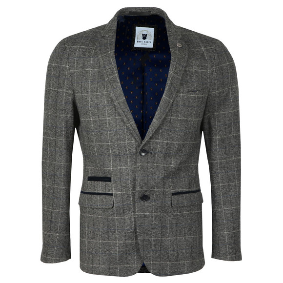 Marc Darcy Mens Grey Scott Blazer