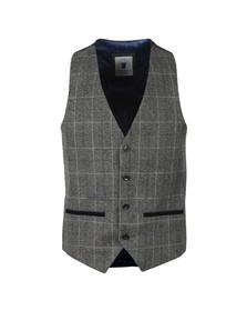 Marc Darcy Mens Grey Scott Waistcoat