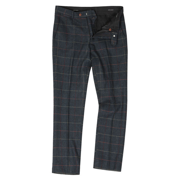 Marc Darcy Mens Blue Eton Trouser main image