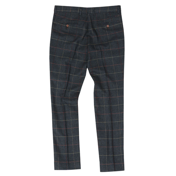 Marc Darcy Mens Blue Eton Trouser