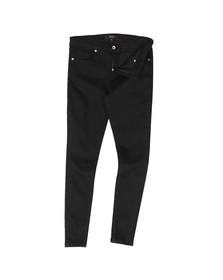 Pre London Mens Black Non Ripped Skinny Jean