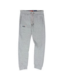 Superdry Mens Grey Orange Label Cuffed Jogger