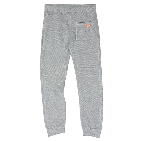 Superdry Mens Grey Orange Label Cuffed Jogger main image