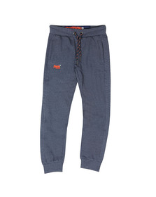 Superdry Mens Blue Orange Label Cuffed Jogger