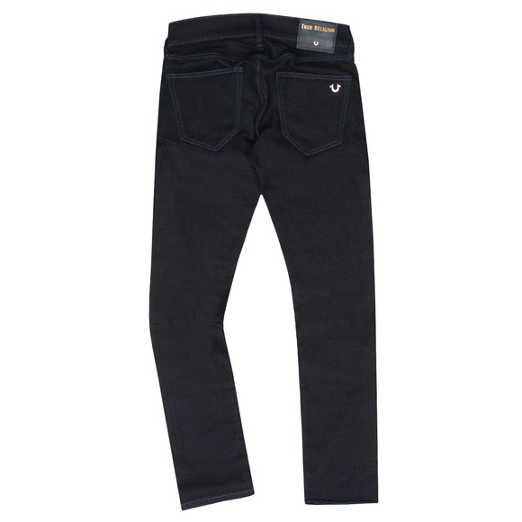 True Religion Mens Blue Rocco No Flap SE Jean
