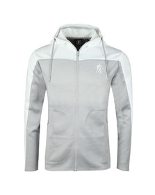 Gym King Mens Grey Capo poly Zip Hoody