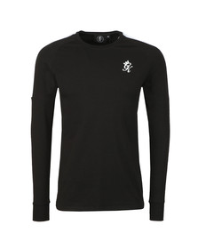 Gym King Mens Black L/S Core Plus Tee
