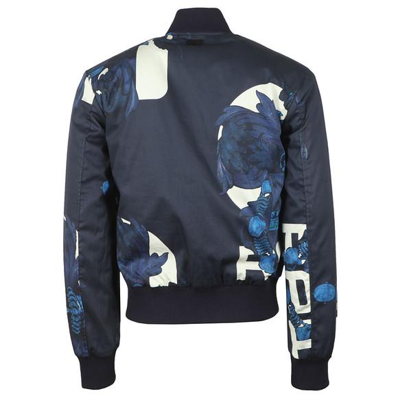 G-Star Mens Blue Rackam Sports Padded Bomber Jacket main image