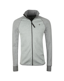 G-Star Mens Grey Full Zip Sweat