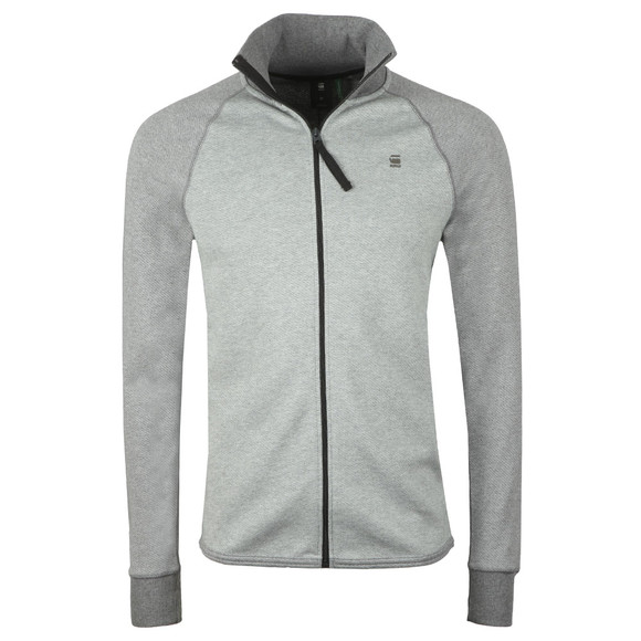 G-Star Mens Grey Full Zip Sweat main image